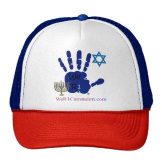 We R1 Jewish Hand Hat