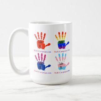 We R1 Love Wins (with Red Hard) Mug