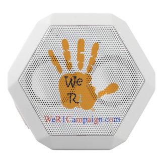We R1 Orange Hand Bluetooth Speaker