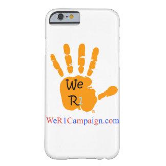 We R1 Orange Hand Phone Case
