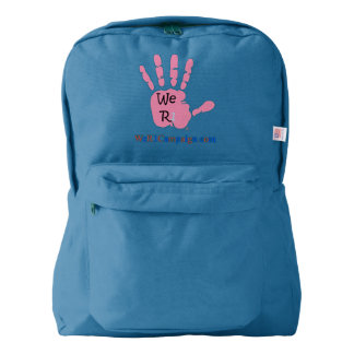 We R1 Pink Hand Backpack