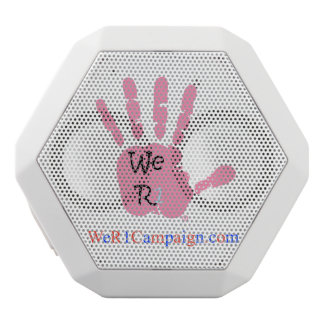 We R1 Pink Hand Bluetooth Speaker
