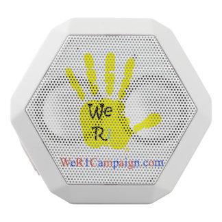 We R1 Yellow Hand Bluetooth Speaker