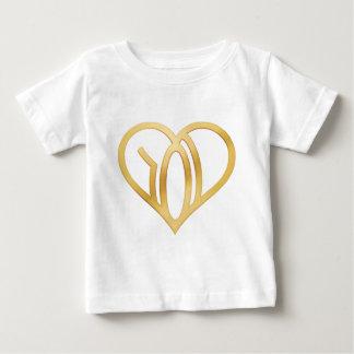 WE R LOVE - logo - applied Heart Baby T-Shirt