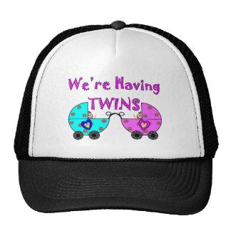 We re Having TWiINS Hats