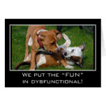 """We really put the """"fun"""" in dysfunctional"""