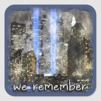 WE REMEMBER Stickers