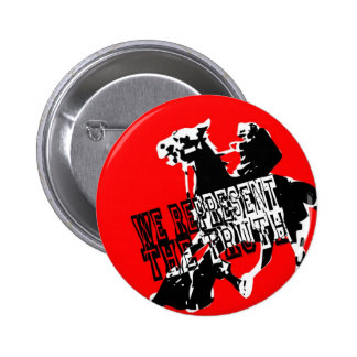 we represent the truth 2 inch round button