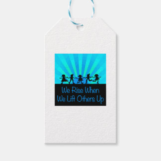 We Rise When We Lift Others Up Pack Of Gift Tags