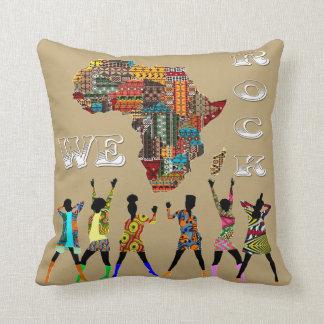 We Rock! Throw Pillow