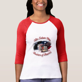 We Salute Truckers of America T-Shirt