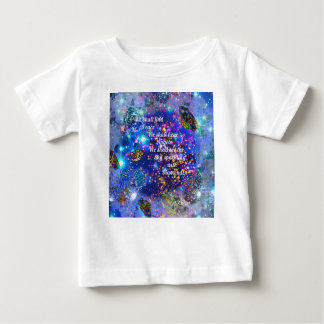 We shall find peace and hear the angels baby T-Shirt