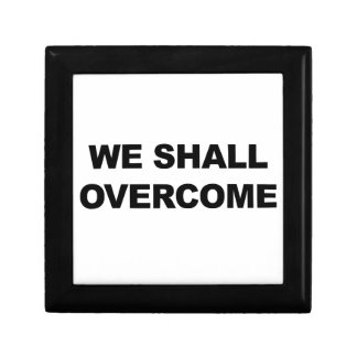 WE SHALL OVERCOME GIFT BOX