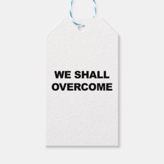 WE SHALL OVERCOME PACK OF GIFT TAGS