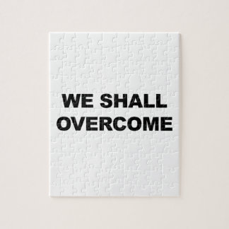 WE SHALL OVERCOME PUZZLE