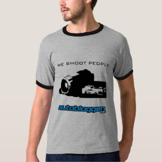 """We shoot people"" T-Shirt"