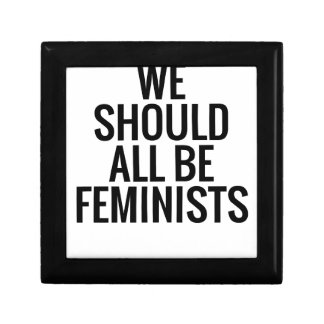 WE SHOULD ALL BE FEMINISTS JEWELRY BOXES