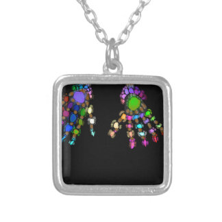WE SILVER PLATED NECKLACE