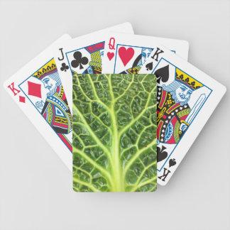 We singing Kohl Savoy cabbage berza chou vert Bicycle Playing Cards