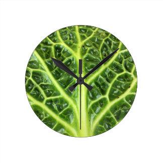 We singing Kohl Savoy cabbage berza chou vert Clocks