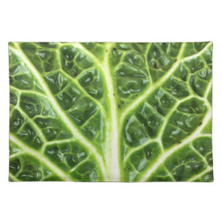 We singing Kohl Savoy cabbage berza chou vert Placemats
