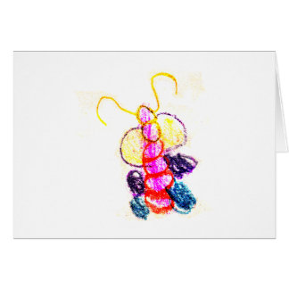 We stand with You Caterpillar jGibney The MUSEUM A Greeting Card
