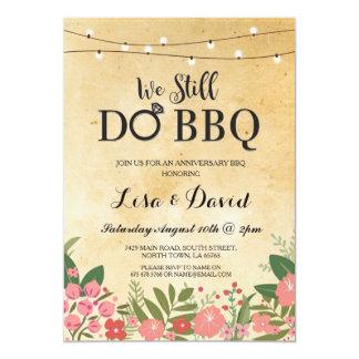We Still Do BBQ Anniversary Celebration Invite