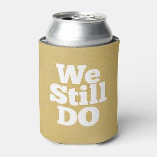 We Still Do - Custom Anniversary Favor Golden Can Cooler