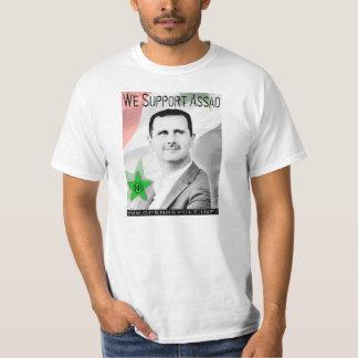 We Support Bashar Assad! T-Shirt