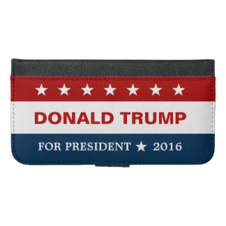 We Support Donald Trump for President 2016 iPhone 6/6s Plus Wallet Case