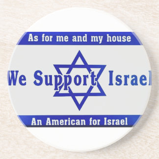 We Support Israel Coaster