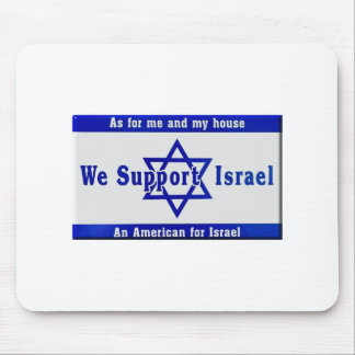 We Support Israel Mouse Pad