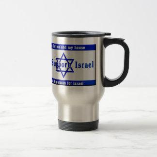 We Support Israel Travel Mug