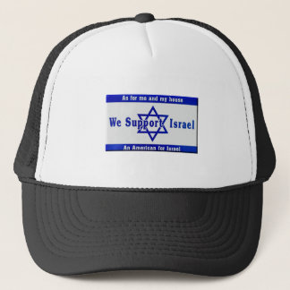 We Support Israel Trucker Hat