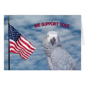 We Support You Card