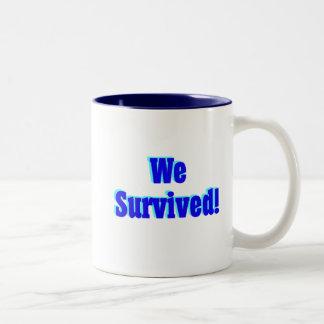 We Survived 2009 mug blue - © Angel Honey, 2009