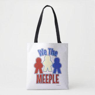 We the Meeple Tabletop Gaming Tote Bag
