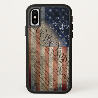 We The People American Flag iPhone X Tough Xtreme Case-Mate iPhone Case
