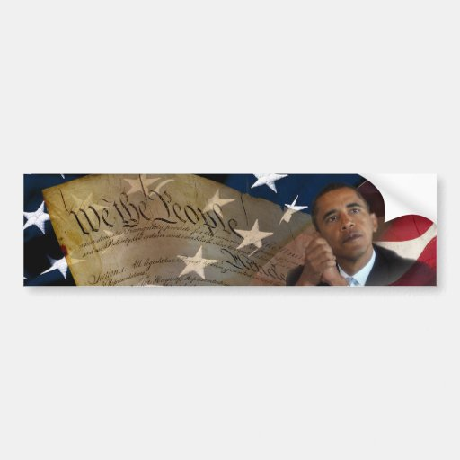 We the People...Barack Obama & the Constitution Bumper Stickers