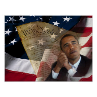 We the People...Barack Obama & the Constitution Poster