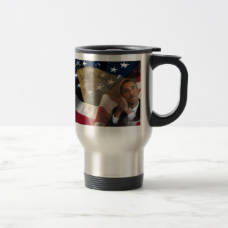 We the People...Barack Obama & the Constitution Stainless Steel Travel Mug
