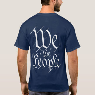 We the People. Big Back. Lil Left Chest T-Shirt