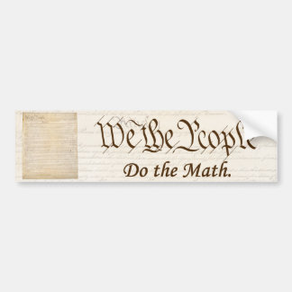 We the People - Bumper Sticker #2