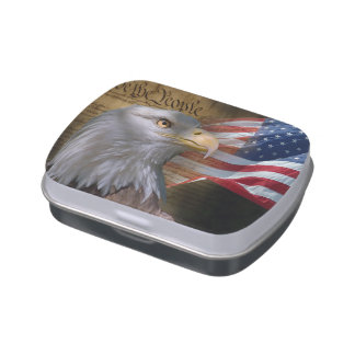 We The People Candy Tin