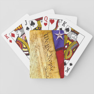 We the People Constitution of the United States Poker Deck