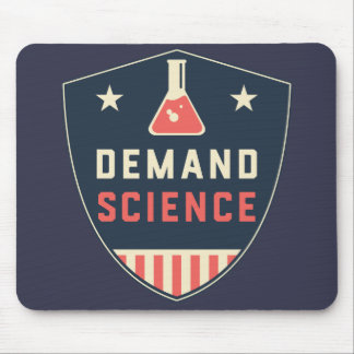We the People Demand Science in America Mouse Pad