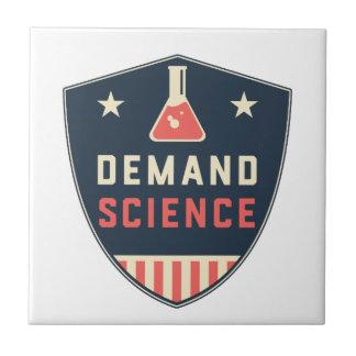 We the People Demand Science in America Tile