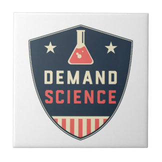 We the People Demand Science in America Tiles