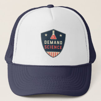 We the People Demand Science in America Trucker Hat