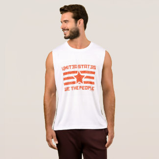 WE THE PEOPLE_faded design Tank Top